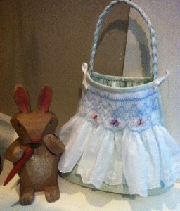 Finished Purse with Bunny